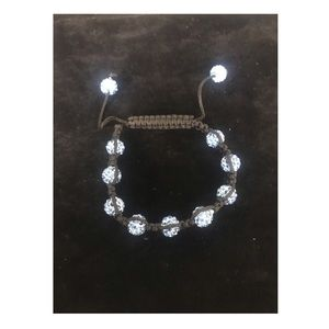 Jewelry - Blue & Black Shamballa Bracelet